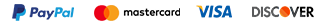 PayPal MasterCard Visa Discover